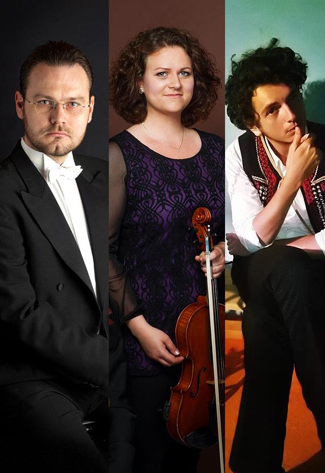 Tri obrazy (suita pre fagot, violu a cimbal), Op. 3