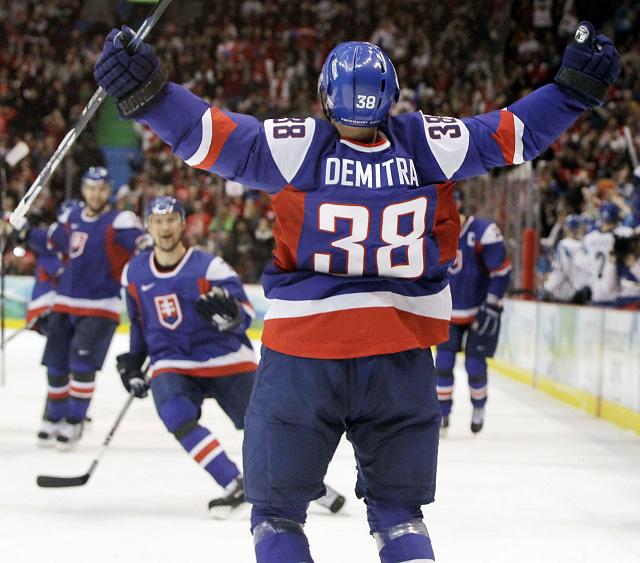 Slovenskí hokejoví hrdinovia